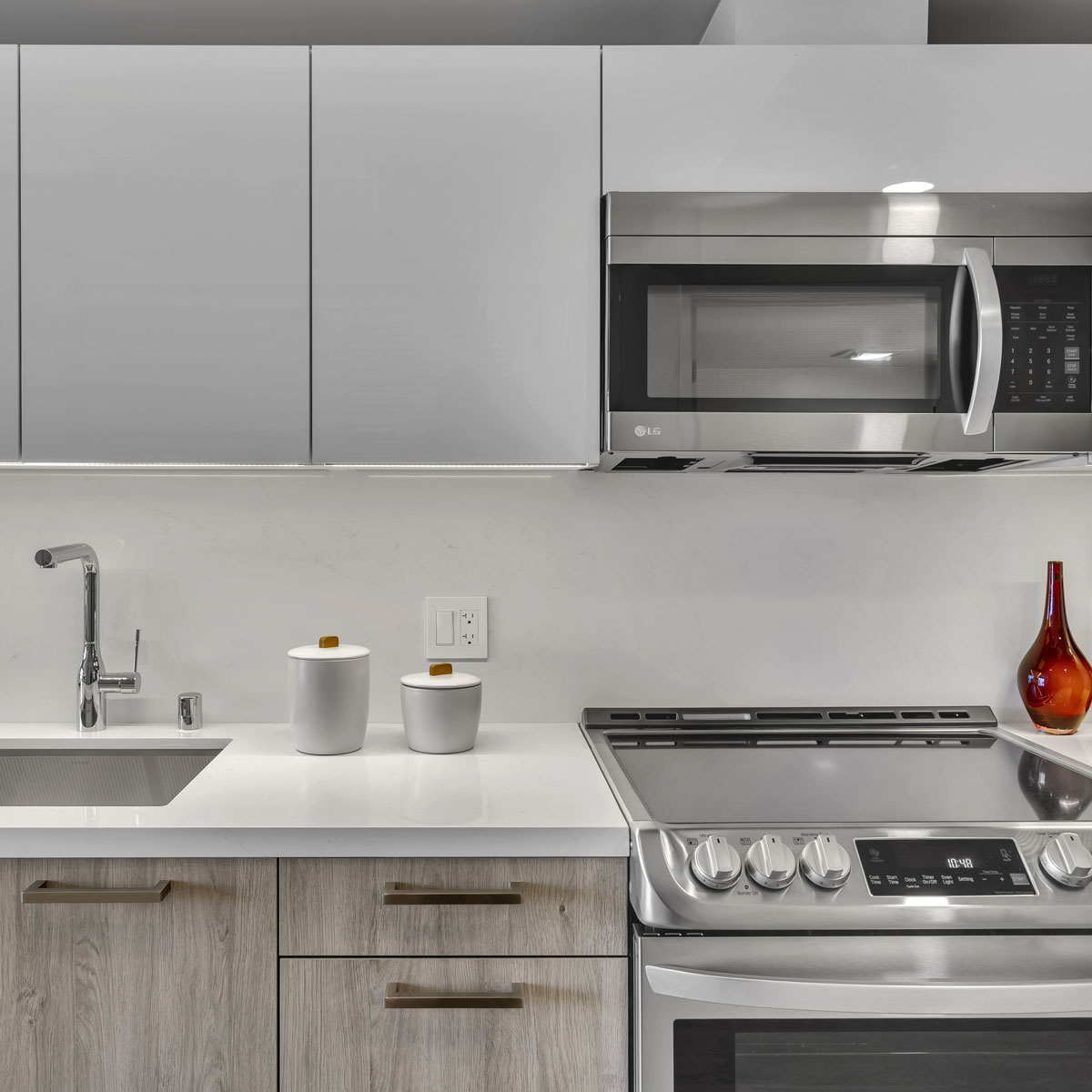 Stainless Steel Appliances by LG