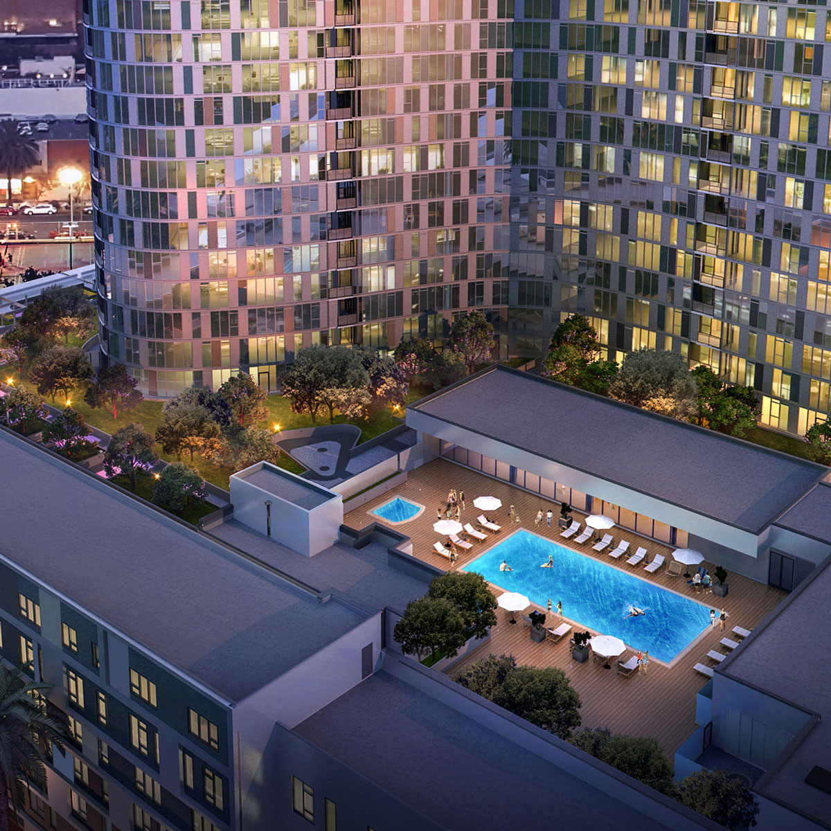 One Acre Rooftop Park & Pool